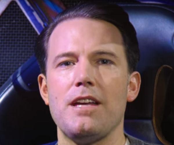 Ben Affleck Surprises Fans in the Batmobile