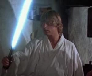 Path of the Blue Lightsaber