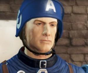 Captain America: Civil War Trailer Recreated in Fallout 4