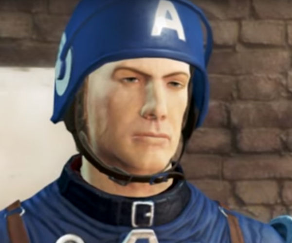 Captain America: Civil War Trailer Recreated in Fallout 4