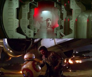 The Force Awakens and A New Hope Compared