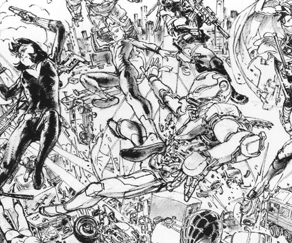 Kim Jung Gi Draws Marvel Civil War II Variant Covers