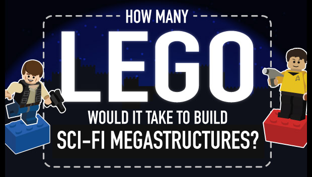 How Many LEGO Bricks Would It Take to Build Iconic Sci-Fi Stuff?