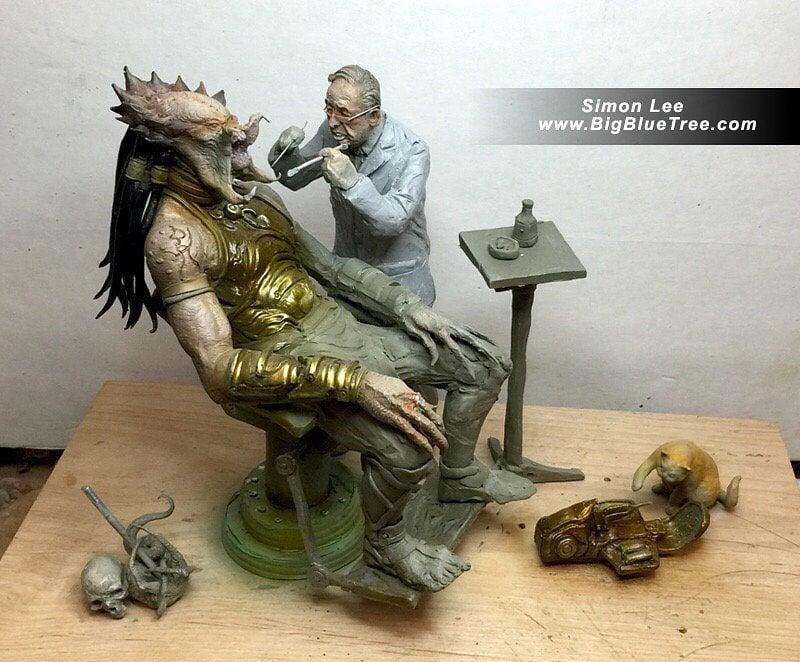 So A Predator Walks into the Dentist…