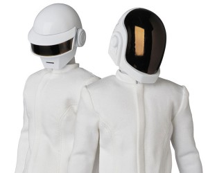 Medicom RAH Daft Punk White Suits & Human After All 2.0