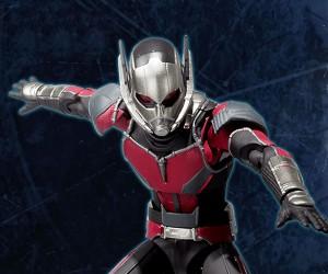 SH Figuarts Civil War Ant-Man Action Figure
