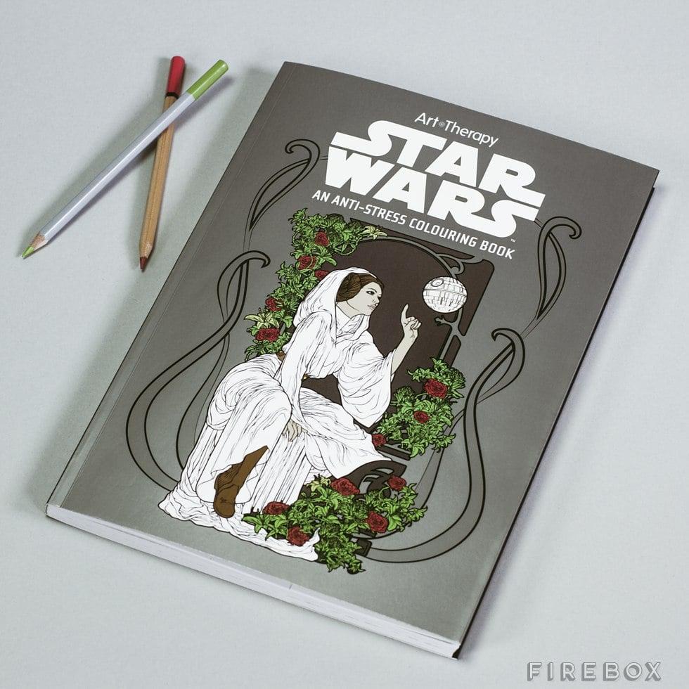 Star Wars Anti-Stress Coloring Book