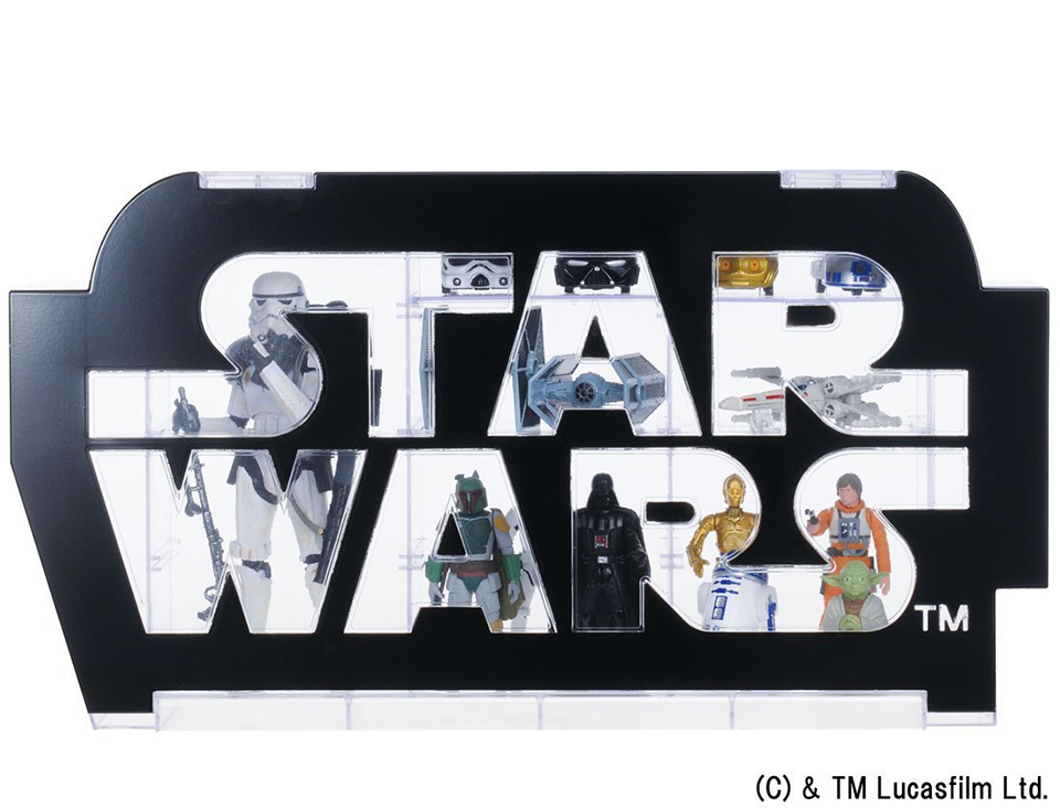Takara Tomy Star Wars Logo Display Case