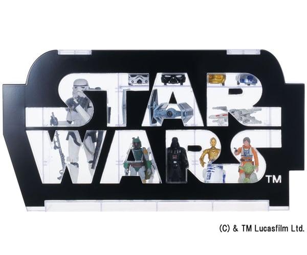 Takara Tomy Star Wars Logo Display Case