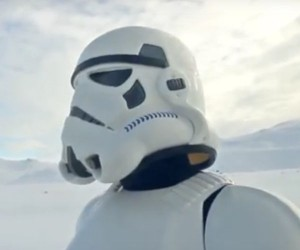 A Stormtrooper Finds Love in this Music Video