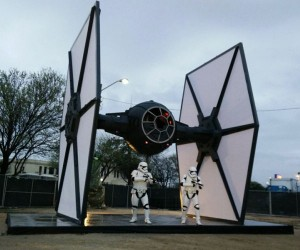 Life-Sized First Order TIE Fighter Lands at SXSW