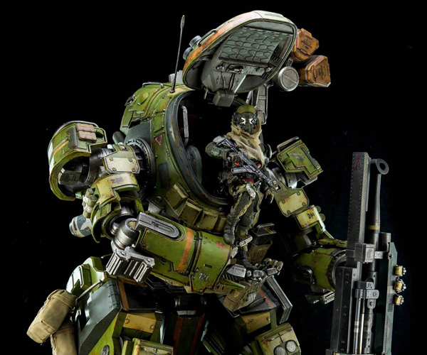 Threezero Titanfall M-COR Ogre Action Figure