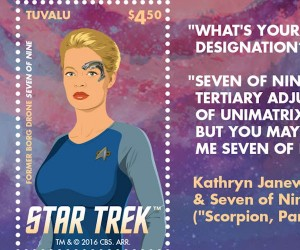 The Women of Star Trek Postage Stamps