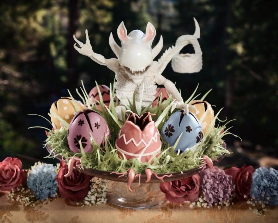Alien Xenomorph Easter Bunny
