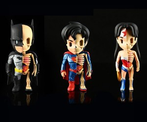 Jason Freeny XXRAY Justice League Figures