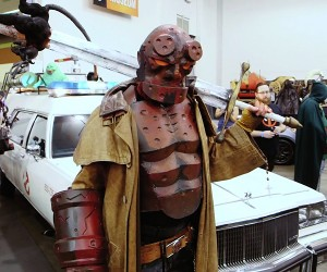 Adam Savage's Comic Book Hellboy Costume