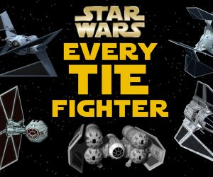All TIE Fighter Variants in the Star Wars Legends Universe