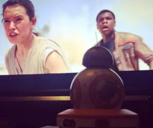 Sphero BB-8 Can Watch and React to The Force Awakens