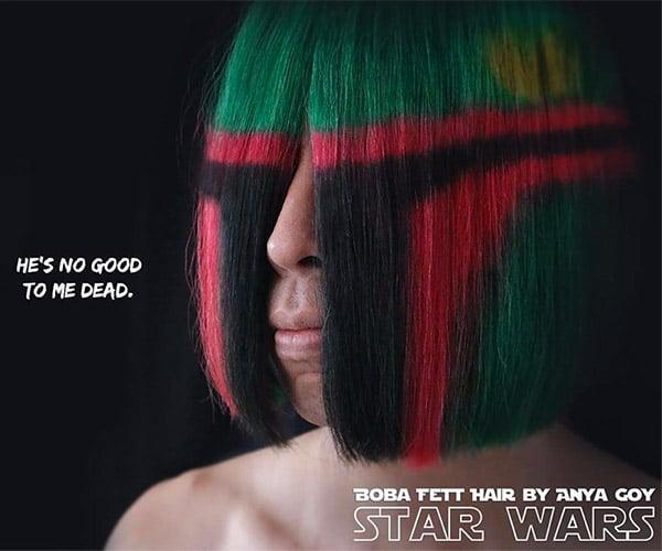 Boba Fett Hairdo: I Sia Mandalorian