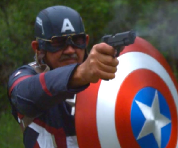 Real-Life Captain America Shield Is Bulletproof