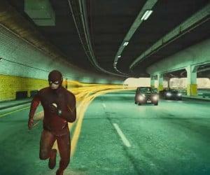 The Flash Tears up GTA V