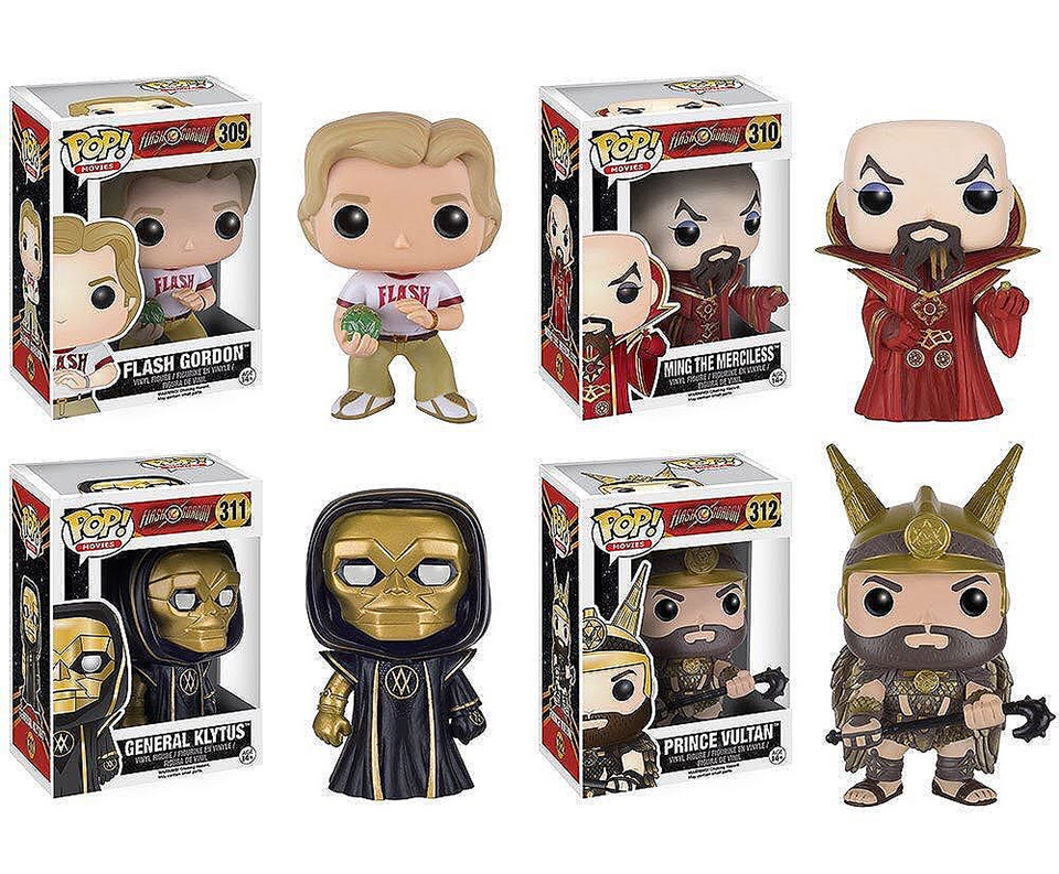 Flash Gordon Funko Pop! Vinyls Coming Soon