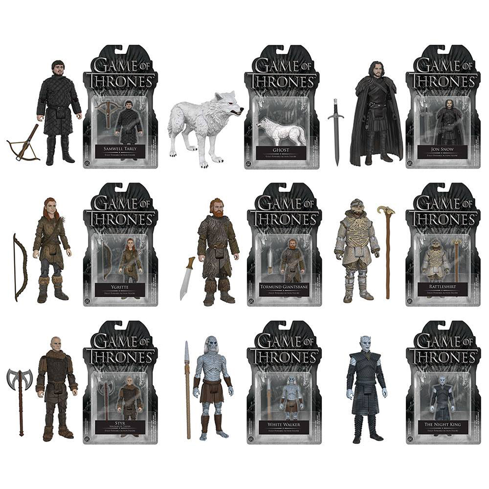 Funko Game of Thrones Action Figures and The Wall Display Set