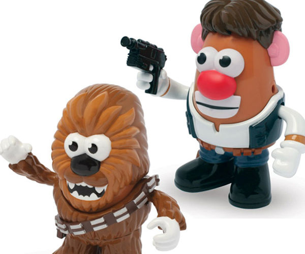 Star Wars Han Solo and Chewbacca Poptaters