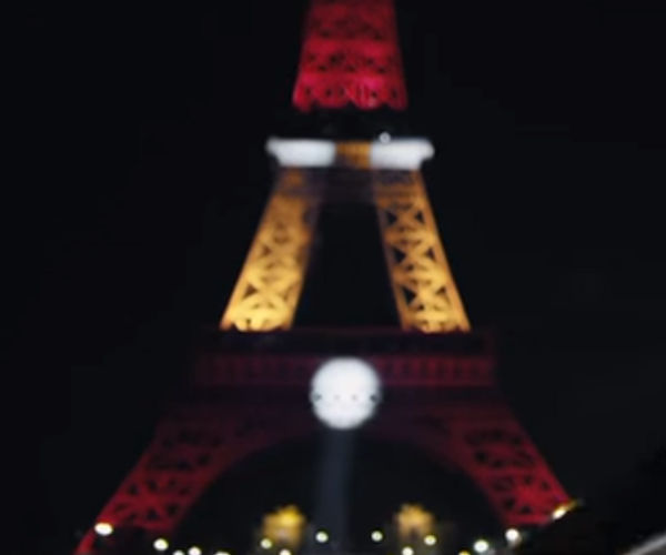 The Eiffel Tower Gets an Iron Man Makeover