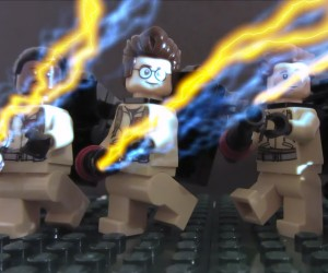LEGO + Ghostbusters + Back to the Future = Flashback