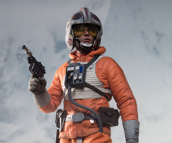 Sideshow Luke Skywalker Snowspeeder Pilot Sixth Scale Action Figure