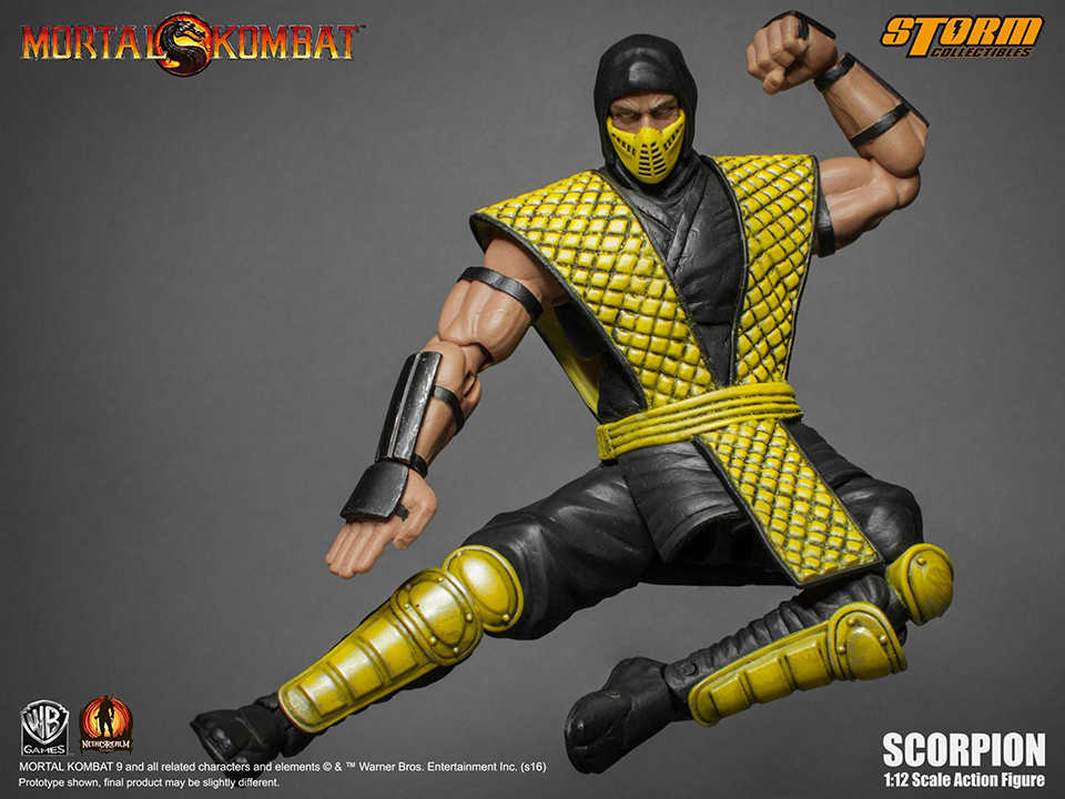 Storm Collectibles MK Scorpion 12th Scale Action Figure