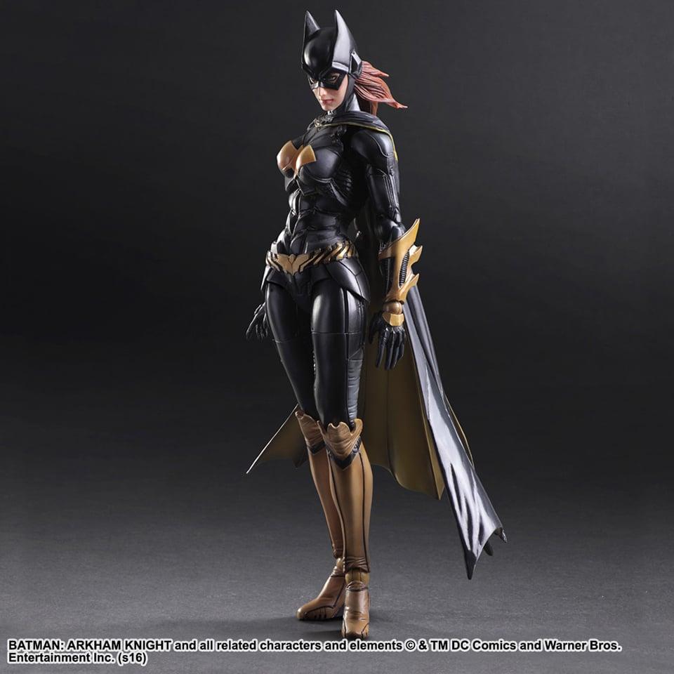 Play Arts Kai Batman Arkham Knight Batgirl Action Figure