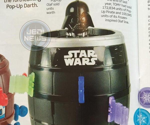 Tomy Pop-up Darth Vader Game