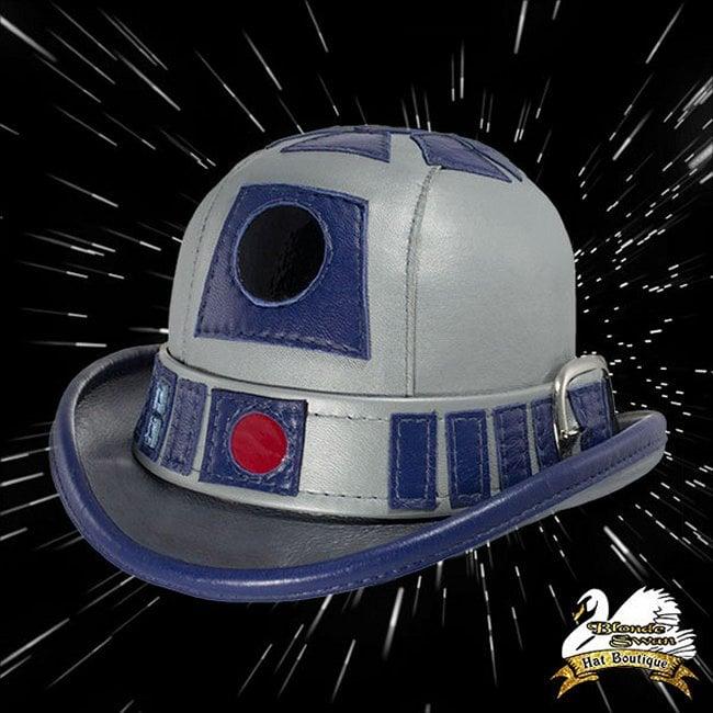 R2-D2 Leather Derby for Gentlemen Droids