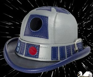 R2-D2 Leather Derby for Gentlemen Droids