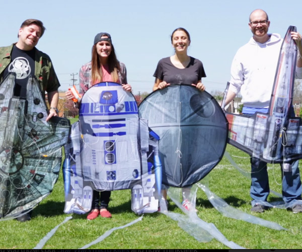 Star Wars Kites Just Got Bigger