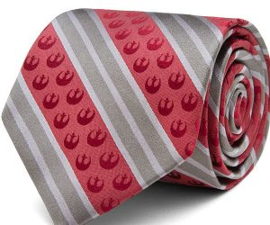 Star Wars Rebel Striped Tie