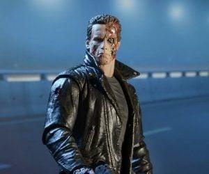 NECA Terminator Police Station Assault T-800 Action Figure