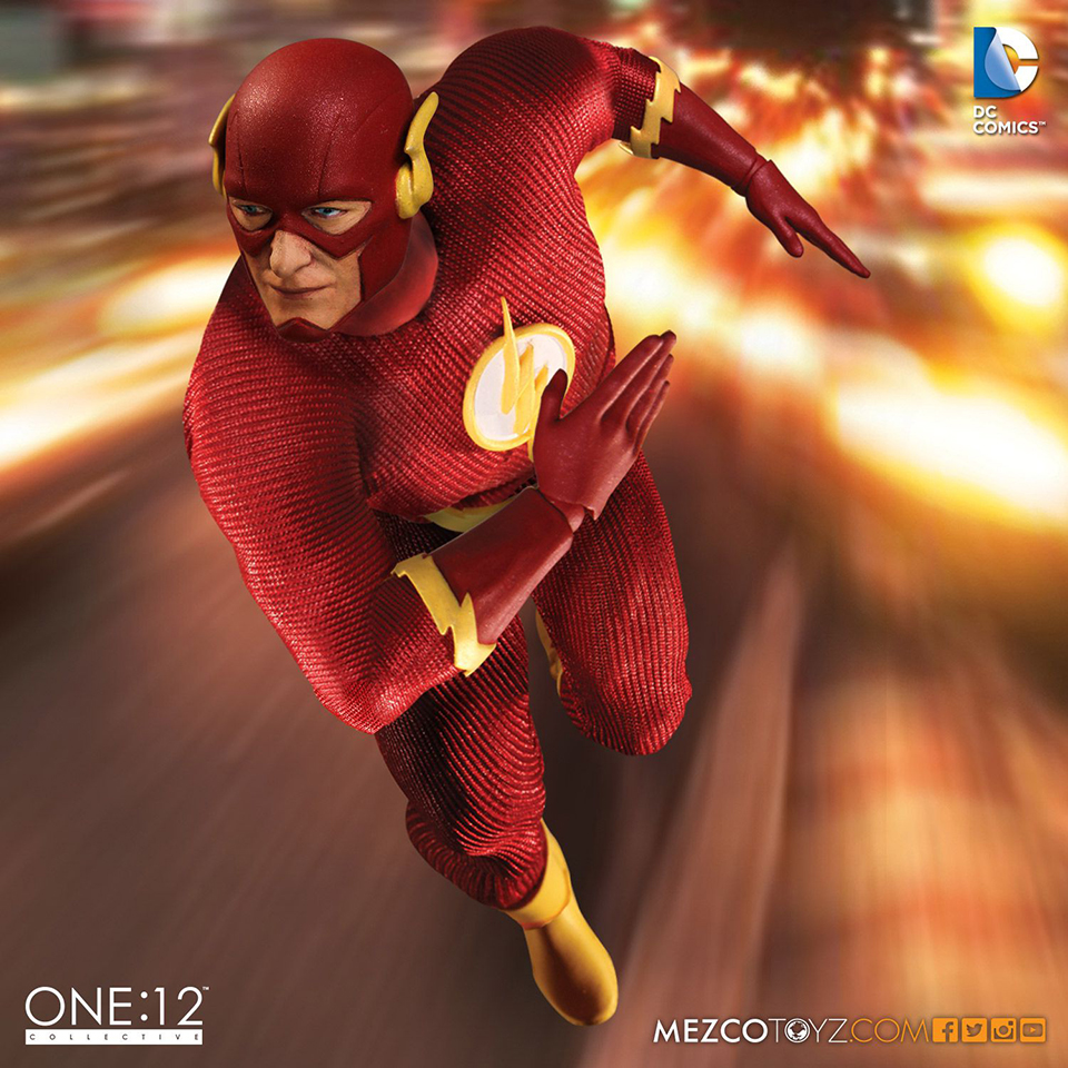 Mezco Toyz One:12 Collective The Flash Action Figure