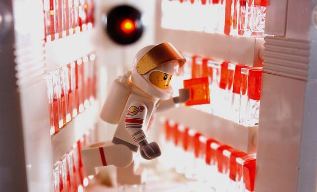 HAL 9000's Deactivation: LEGO Edition