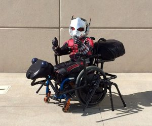 Ant-Man and Antony Wheelchair Cosplay