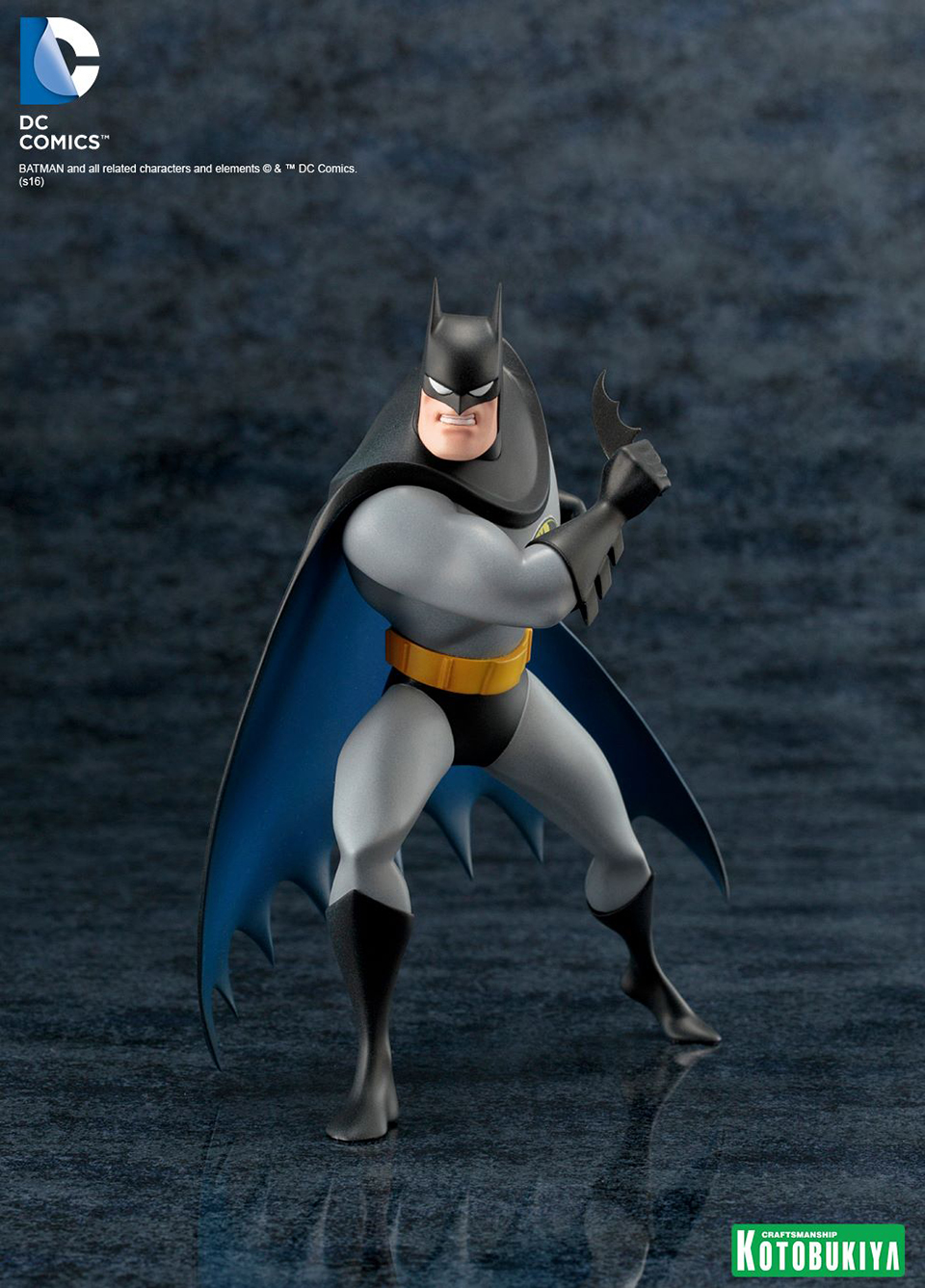 Kotobukiya Batman Animated ARTFX+ Statue