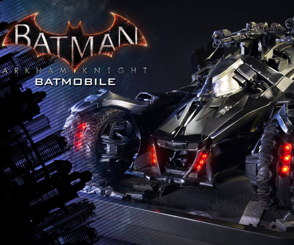 Prime 1 Studio Batman Arkham Knight Batmobile 1/10 Scale Diorama