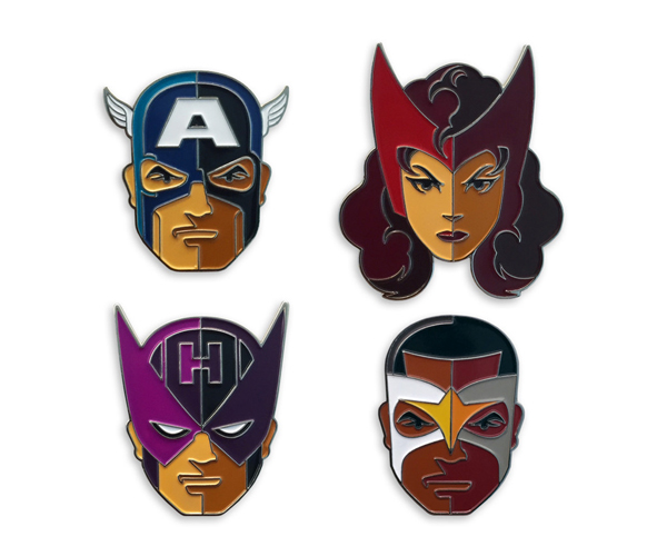Mondo Captain America: Civil War Pins