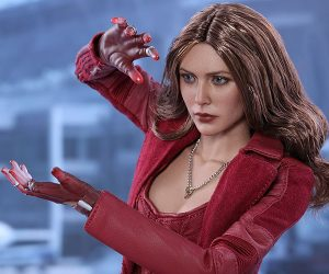 Hot Toys Civil War Scarlet Witch 1/6 Scale Action Figure