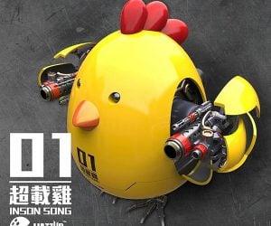 Metal Saga Overload Killer Chicken