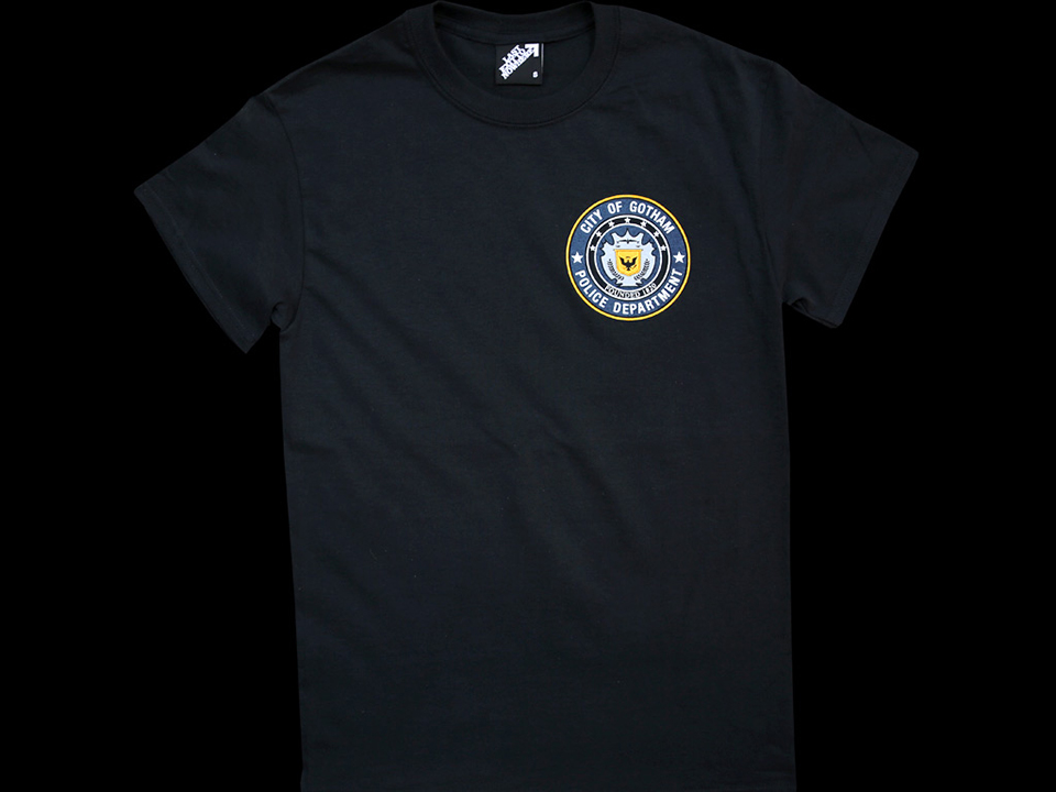 Last Exit to Nowhere City of Gotham Police Department T-Shirt