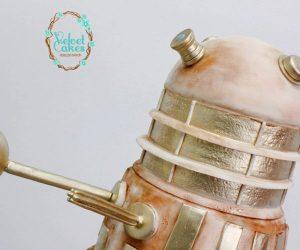 Imperial Dalek Cake: Exter-Ma-Bake