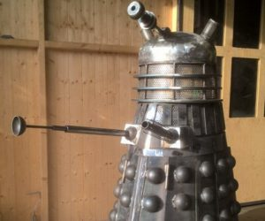 Doctor Who Dalek Fire Pit: Incinerate!